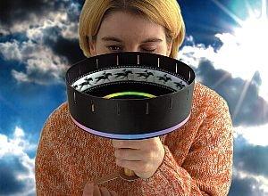 aue-verlag 18x 18x 20cm) película máquina zoótropo modelo kit