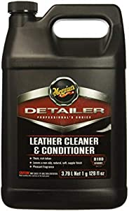 Meguiar's car leather cleaner & conditioner