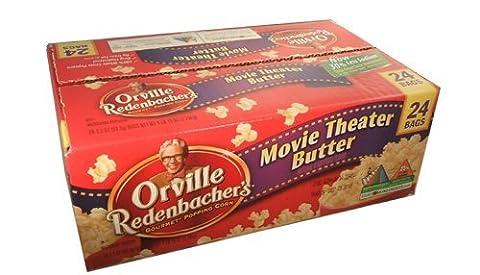 Orville Redenbacher Gourmet Popping Corn Movie Theater Butter Popcorn 24 Bag Box
