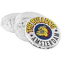 Grinder The Bulldog transparente - Grinder Plástico 3 partes