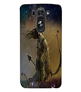 ColourCraft Karna The Warrior Design Back Case Cover for LG D722K