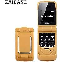 Long CZ J9 El teléfono más pequeño con Bluetooth Mini Flip Teléfono 2G gsm Regalo de