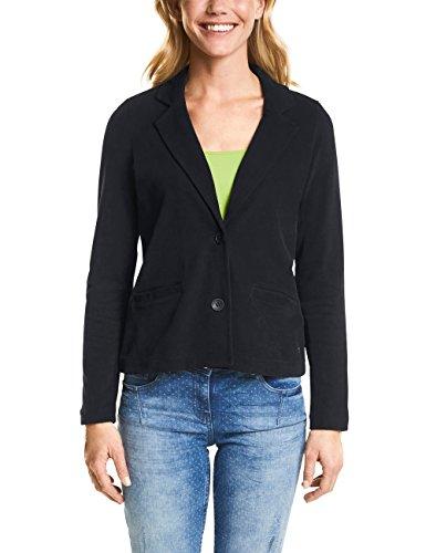 Cecil Damen 210701 Anzugjacke, Black, 46 (Herstellergröße: XL)