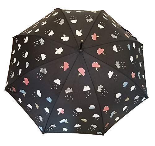 Goods4good Paraguas cambia color lluvia/ agua, adultos