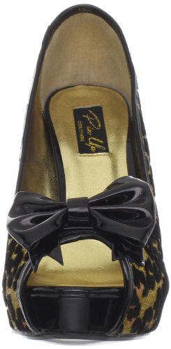 Pinup Couture , sandales femme Or