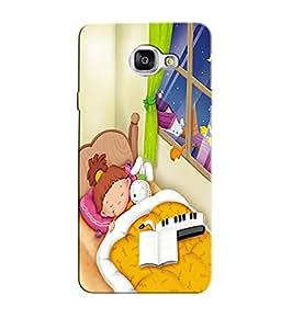 Citydreamz Little Girl/Sleeping/Cartoon/Cute/Babies Hard Polycarbonate Designer Back Case Cover For Samsung Galaxy A5 2016 Edition/Samsung Galaxy A510