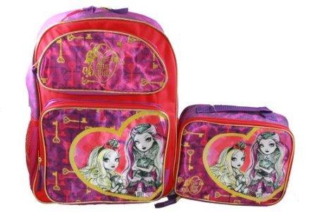 Ever After High Rucksack groß Lunchbox Lunch Bag 2-teiliges Set