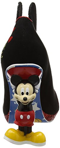 Irregular Choice Damen Mickey Mouse Pumps Red (Red/Black)
