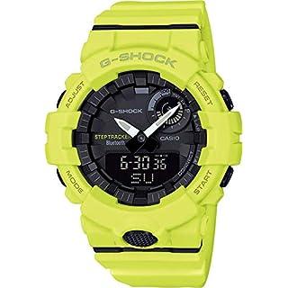 Casio Mens Digital Quartz Watch with Resin Strap GBA-800-9AER