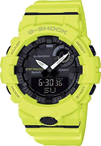 CASIO Herren Analog-Digital Quarz Uhr mit Harz Armband GBA-800-9AER