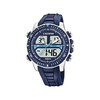 Calypso Watches Reloj Analógico-Digital para Hombre de Cuarzo con Correa en Plástico K5773/2