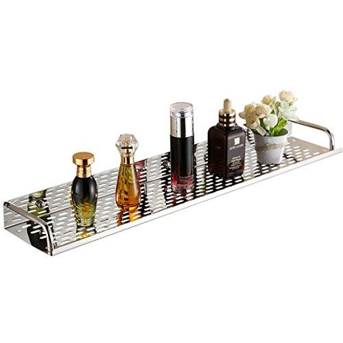 Badablage Edelstahl, Vicoki Badezimmer Regal Wandablage Küche Rack Organizer Regale Caddy Duschablage, 40×12×5cm