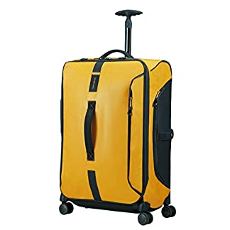 SAMSONITE Paradiver Light – Spinner Duffle Bag 67/24 Bolsa de viaje, 67 cm, 80 liters, Amarillo (Yellow)