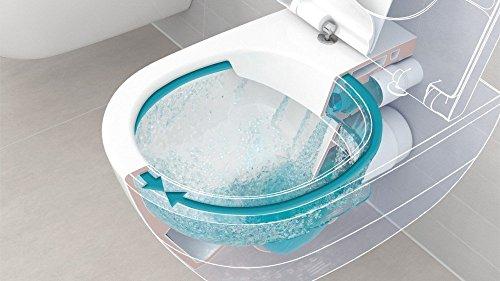 Villeroy & Boch Wand-WC O.Novo mit Sitz, Directflush und ohne Spülrand, 1 Stück, 5660HR01 - 2