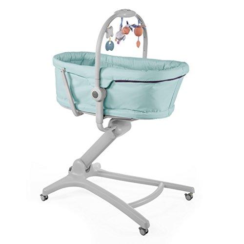 Chicco 05079173110000 baby hug 4 in 1 aquarelle, sdraietta rialzata, azzurro