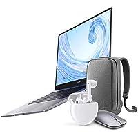 "Huawei MateBook D 15 - Ordenador Portátil de 15.6"" FullHD (AMD Ryzen 5 3500U, 8GB RAM, 256GB SSD, Colaboración multipantalla, Windows 10 Home) Mystic Silver + Freebuds 3 + Mochila + ratón inalámbrico"