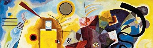 Wassily Kandinsky - Giallo Rosso Blu, 1925, 1 Parte Carta da Parati Adesiva (240 x 75cm)