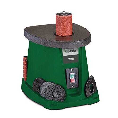 Stürmer Holzstar Holzstar OSS 100 Oszillierende Spindelschleifmaschine für Holzarbeiten, mit Schleifhülsen & Gummi Schleifwalzen, 5903500