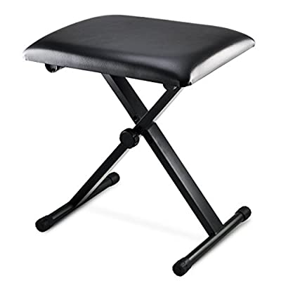 Oypla Keyboard Piano Bench Stool Seat Chair Throne Adjustable Portable produced by Oypla - quick delivery from UK.