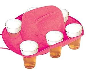 Sombrero de Cerveza, Color Rosa, para 6 Vasos, diseño de Oktoberfest
