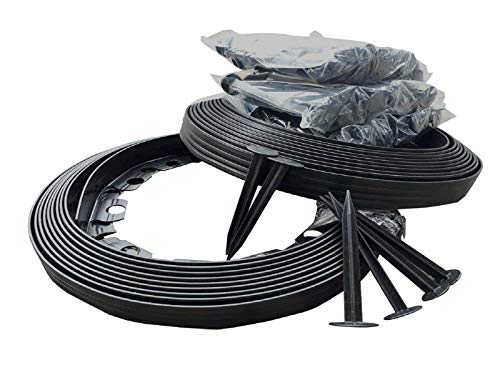 20 metros - Ribete de plástico flexible con 90