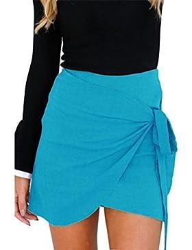 Bluestercool Gonna donna Estiva Elegante Skirt