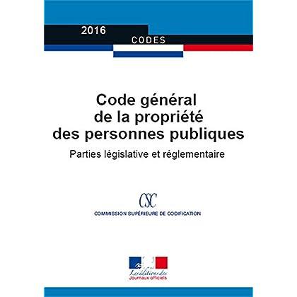 Code général de la propriété des personnes publiques (Codes)