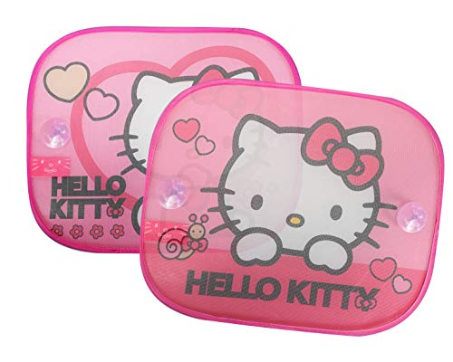 Set de 2 Hello Kitty KIT1035 Noir Bonjour Kitty oreiller