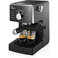 Saeco HD8423/11 - Máquina de café espresso manual, 950 W, color negro