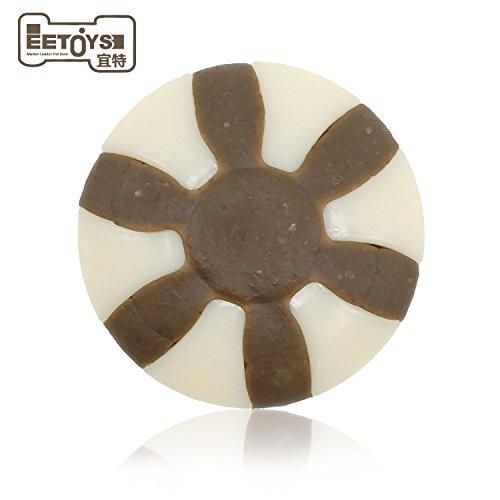 Dura Hund kauen Spielzeug, Speck Rohleder Kauen mit einzigartige Formel gemischt Flavours, eetoys Langlebig Dental Snack Collection