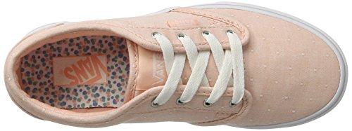 Vans Atwood, Baskets Basses Fille Orange (Woven Polka/Pastel Coral)