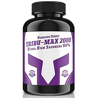 Tribu Max–240Tablets for 60Days Supply | Hardcore Series High Dose Ultra High Saponin 90% 100% Vegan–Muscle Building and Virility | Premium Quality Made in Germany from Bull-Attack