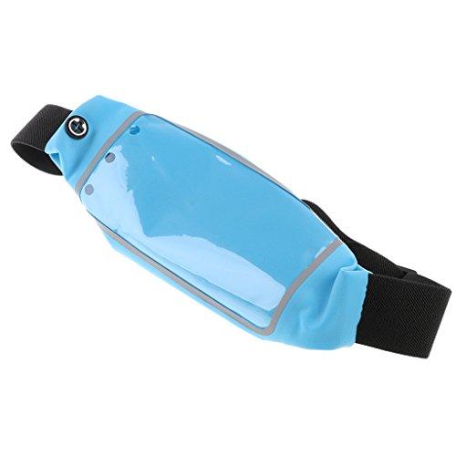 Running Belt Waist Pack Water Resistant Reflective Zipper Hip Fanny Waist Pack For Workout & Fitness,Women And...