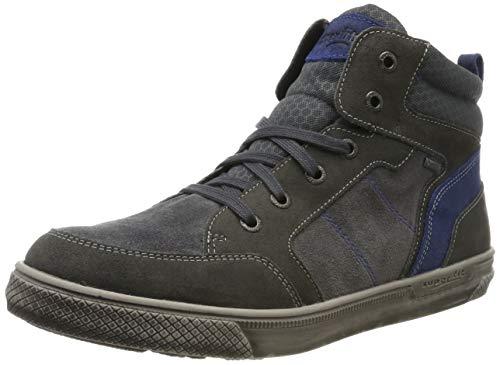 Superfit Jungen Luke Gore-Tex Hohe Sneaker, Grau/Blau 20, 39 EU -