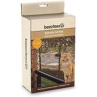 Beeztees Red de Balcón para Gatos Color Transparente Dimensiones 8x3 m 41084