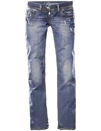 Timezone Lisa 16-5069 Damen Jeans, Boot Cut