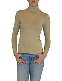 S&LU eleganter Damen Rollkragen Feinstrick Pullover 34-44 super weich und sehr angenehm zu tragen