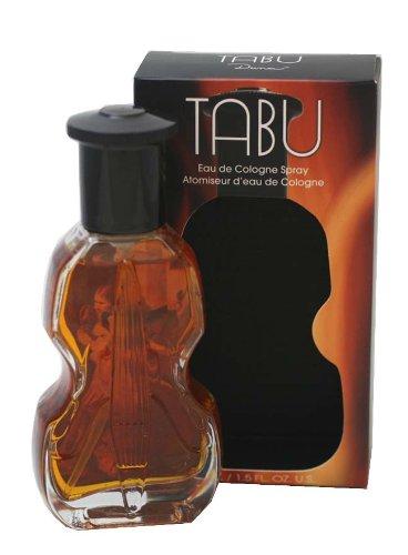 Tabu Eau De Cologne Spray (Dana Tabu Eau De Cologne Pure Spray for Women, 1.5 Ounce by Dana)