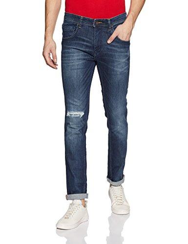 United Colors of Benetton Men's Slim Fit Jeans (17P4L23R5081I_Blue_36)