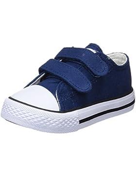 Conguitos Sneaker Lona Velcro, Zapatillas sin Cordones Unisex niños