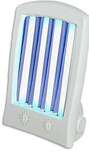 Buenas Ideas Deluxe Tropical Facel Tanner (605) Lámpara de sol broncearse sin importar el clima. Garantía de 2 años