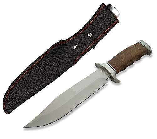 KOSxBO® Zeitloses & klassisches 32cm Jagdmesser - Jäger Messer - Outdoor - Survival - Messer - Hunting Knife - Knife for Hunting