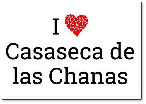 Mundus Souvenirs - Amo Casaseca de Las Chanas, Imán para Nevera (diseño 1)