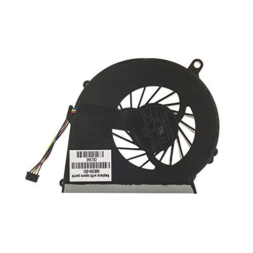 HP 686259-001Modul Thermo-Komponente Notebook zusätzliche-Notebook Komponenten zusätzliche (Modul Thermo, schwarz, Kupfer, Metallic, Compaq 650)