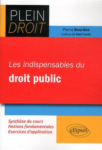 Les Indispensables du Droit Public