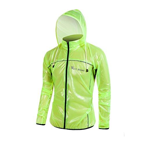 660609035 oeste ciclismo ciclismo chubasquero ligero de ropa de deporte exterior  impermeables y cortavientos transpirable