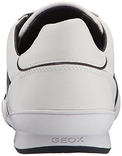 Geox U Kristof A, Baskets Basses Homme Blanc (C1Z1V)