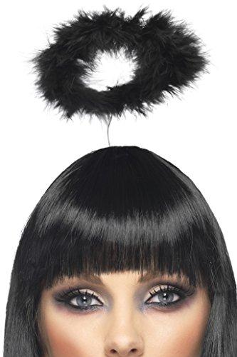 u-Heiligenschein für schwarze Engel (Halo Halloween Kostüm Ideen)