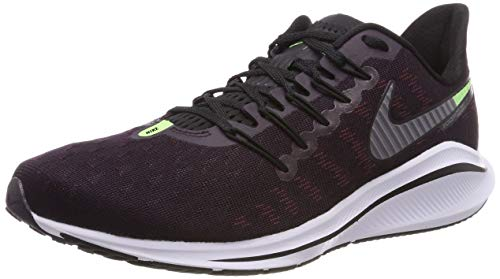 Nike Air Zoom Vomero 14, Scarpe da Running Uomo, Viola (Burgundy Ash/Atmosphere Grey/Lime Blast/Black/Gun Smoke 600), 44 EU