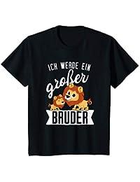 Kinder Ich werde Großer Bruder T-Shirt Schwangerschaft Ankündigung